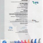 IFS CERTIFICATE ECO MES