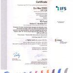 IFS sertificate 2019-1111111111111111111