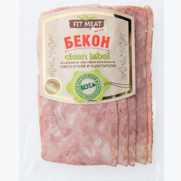 БЕКОН FIT MEAT E 150 ГР